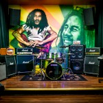 $30 - Geary Bob Marley Studio Picture
